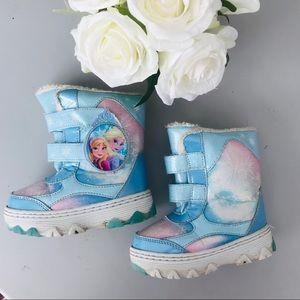 Disney Frozen Anna Elsa Snow Boots 9C